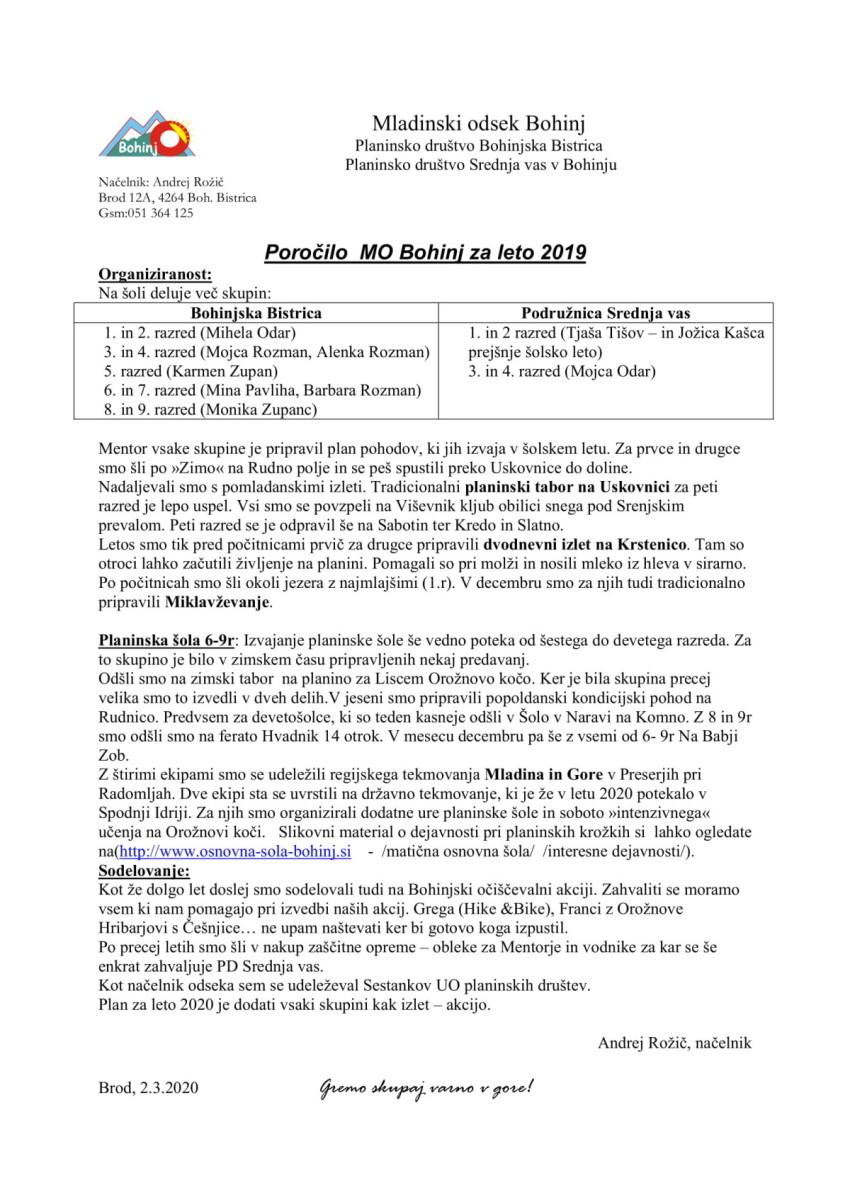 poročilo MO 2019-1