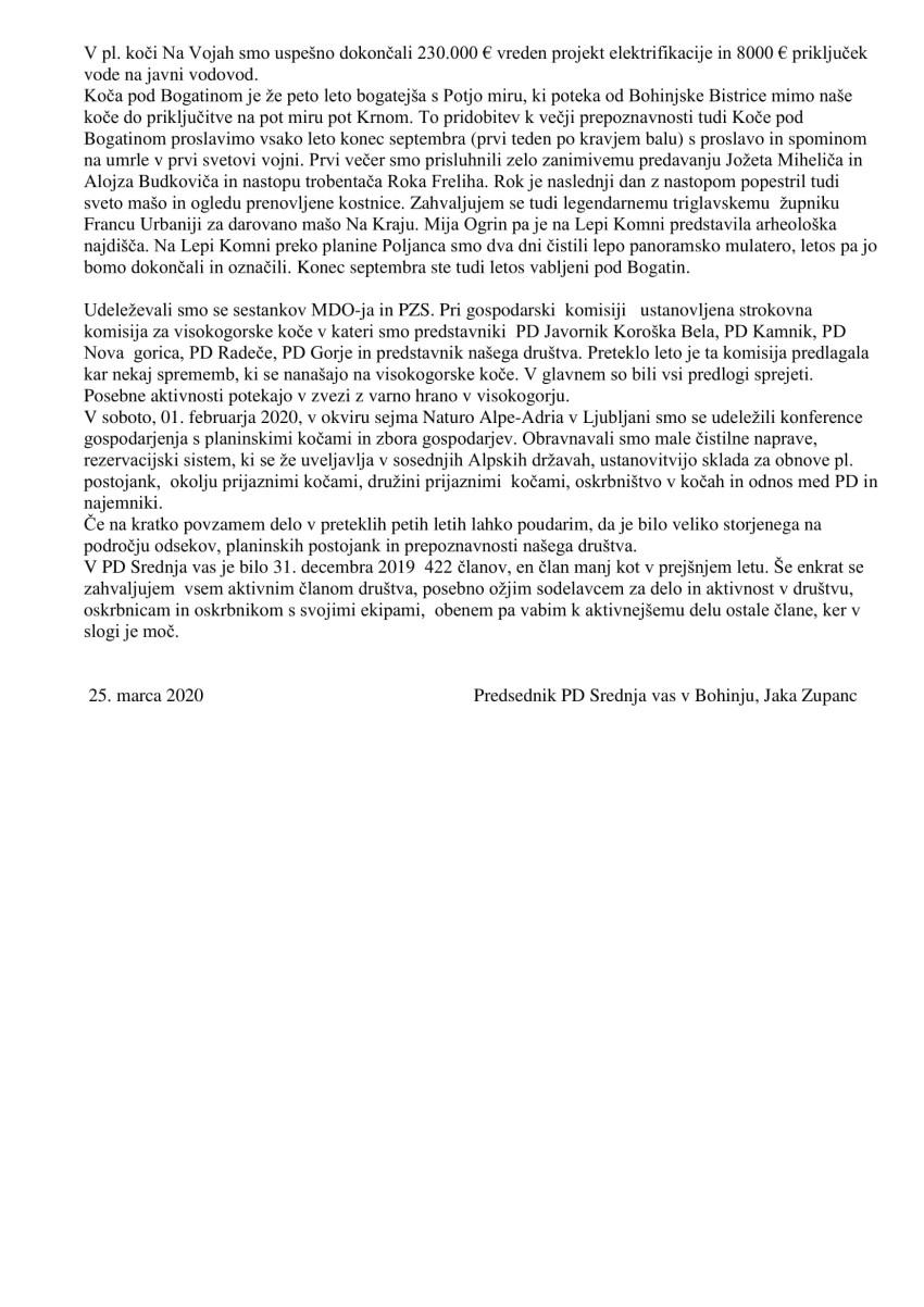 POZDRAV PREDSEDNIKA NA OZ PD SREDNJA VAS V BOHINJU 2020 (3)-2