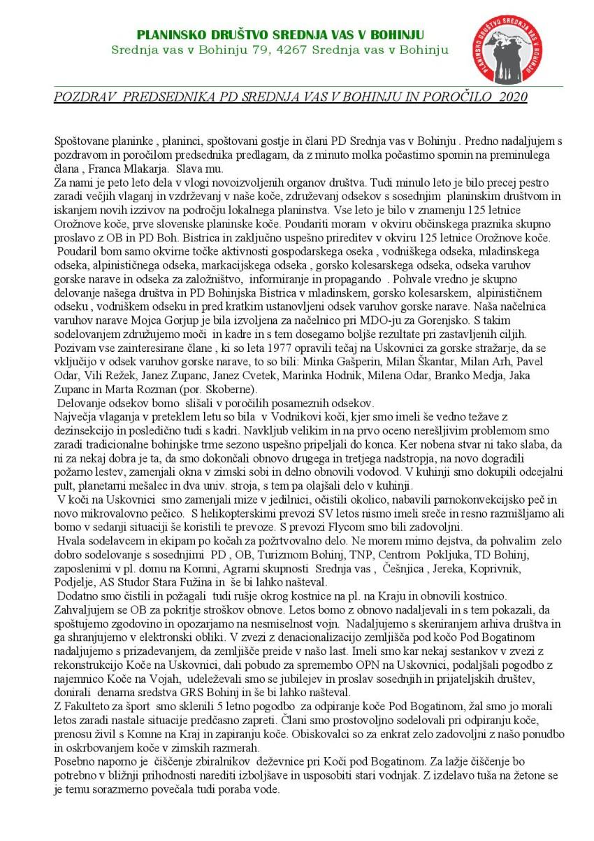 POZDRAV PREDSEDNIKA NA OZ PD SREDNJA VAS V BOHINJU 2020 (3)-page-001